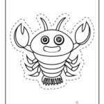 Lobster Cutting Page