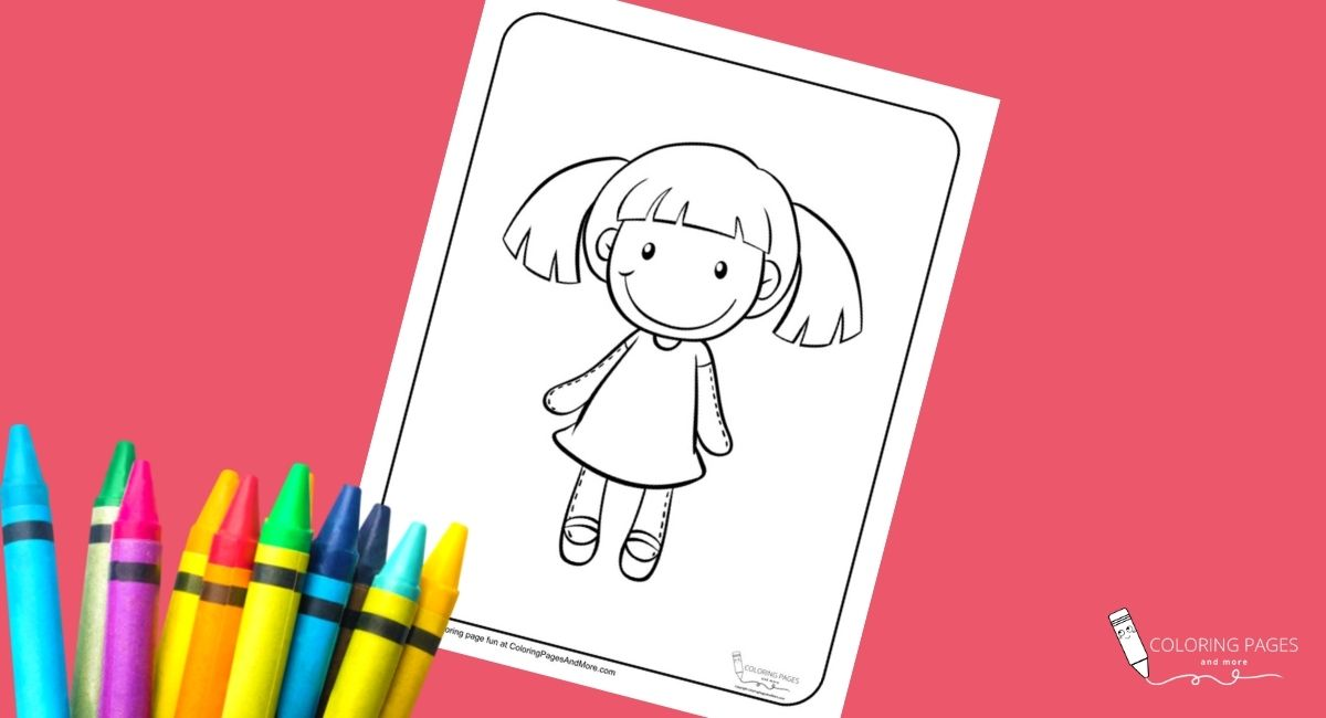 Rag-doll Coloring Page